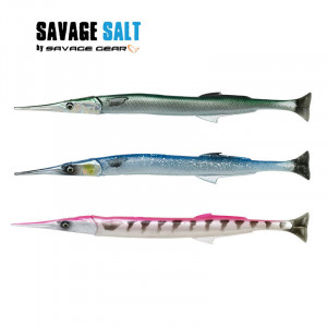 Savage Salt 3D Line Thru Needlefish Pulse Tail 2+1 300mm