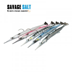 Savage Salt 3D Needlefish Pulse Tail 2+1 230mm