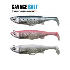 Savage Salt 3D TPE Minnow 80mm
