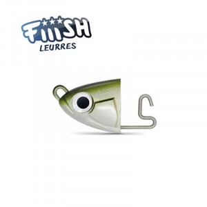 Fiiish Black Minnow No4 140mm Jighead 10g Shallow Kaki