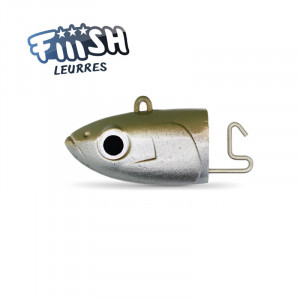 Fiiish Black Minnow No3 120mm Jighead 37g Deep Kaki