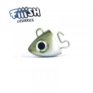 Fiiish Black Minnow No2 90mm Jighead 8g Search Kaki