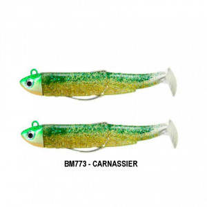 Fiiish Black Minnow No2 90mm Search 8gr Double Combo