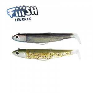 Fiiish Black Minnow No2 90mm Off Shore 10gr Double Combo