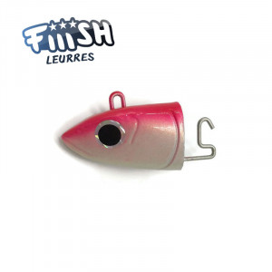 Fiiish Black Minnow No2 90mm Jighead 10g Off Shore Red