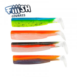 Fiiish Black Minnow No2 90mm Color Box UV
